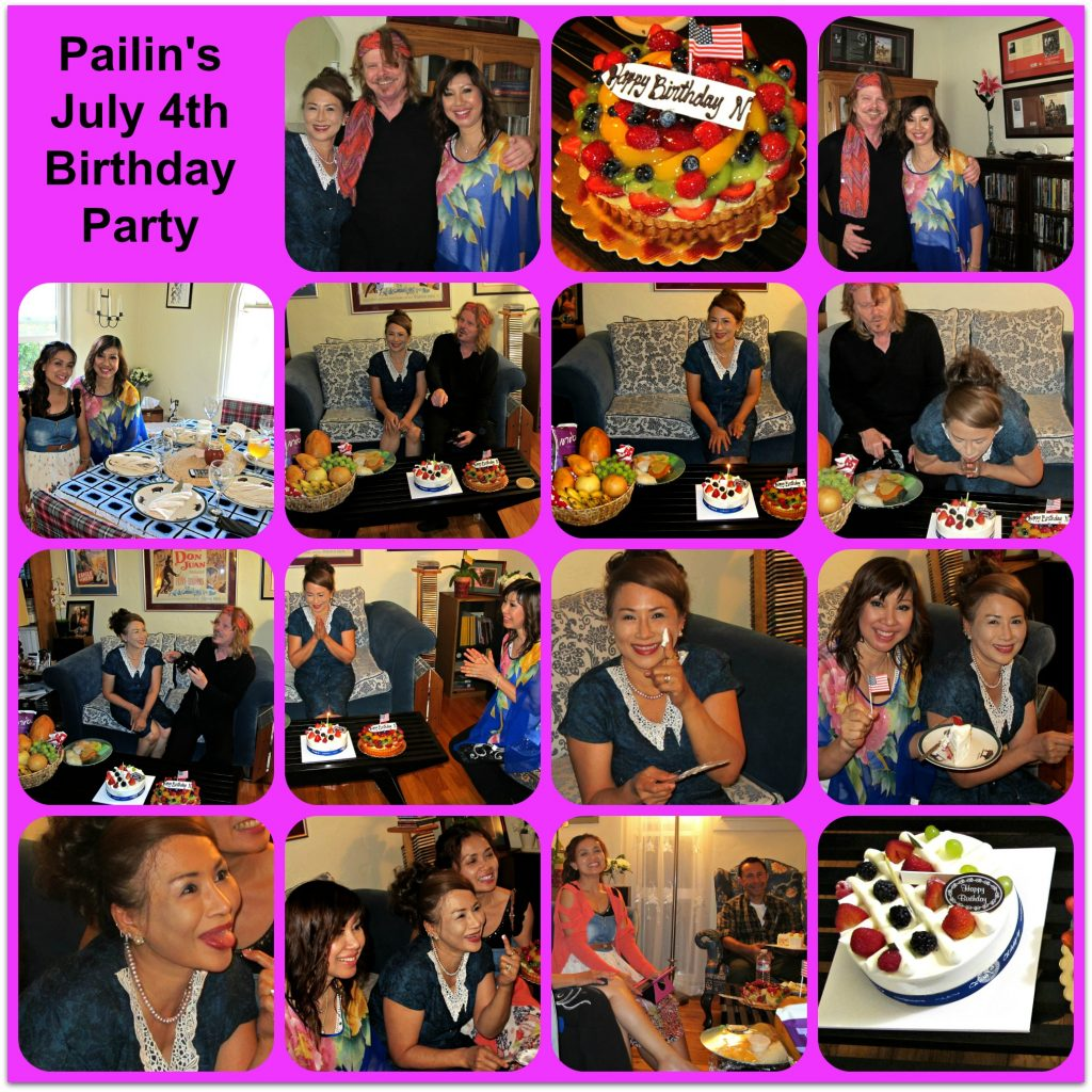 Pailin's Birthday Party Collage